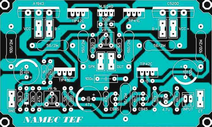 PCB Driver Power Amplifier