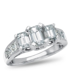 Encore, 14K White Gold Diamond Engagement Ring, Samuels Jewelers