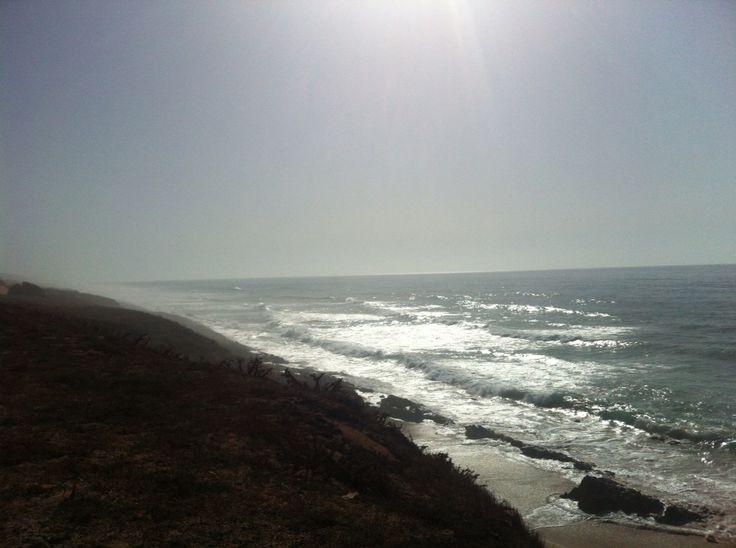 On the coast ...