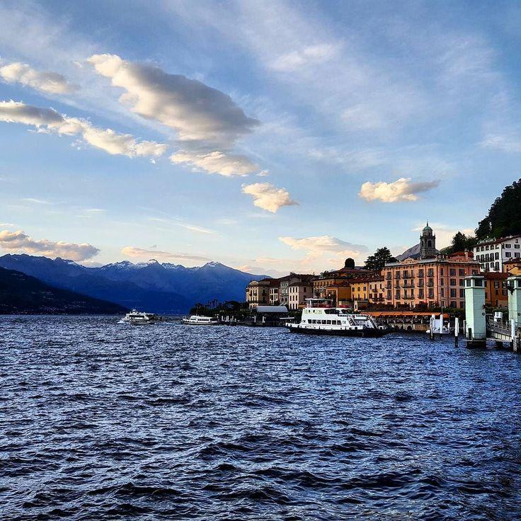 Bellagio and the lake...  Bellagio e il lago...