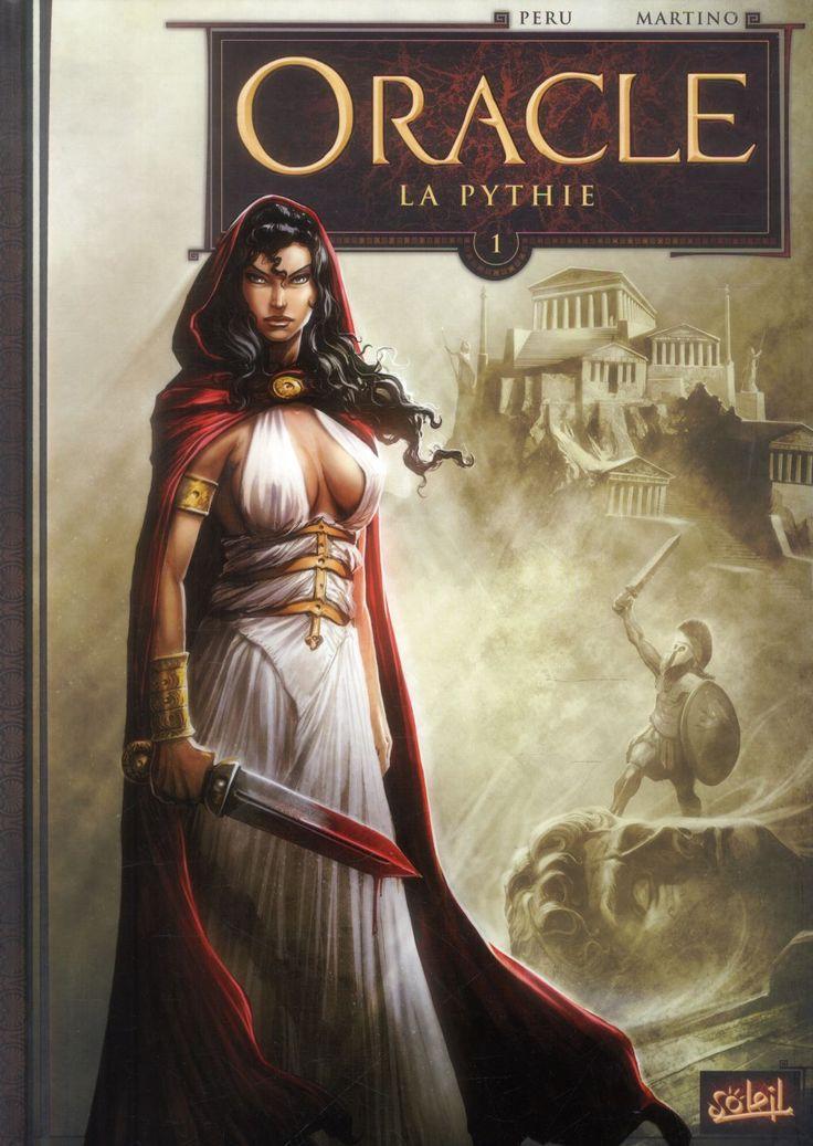 Oracle Tome 1 - La Pythie : Olivier Peru, Stefano Martino - BD