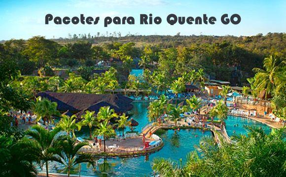 Pacotes para o Rio Quente com acesso ao Hot Park e aéreo #pacotes #rioquente #hotpark #aéreos #viagem
