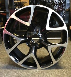 "4 x 18"" NEW VAUXHALL VXR STYLE ALLOY WHEELS BLACK/POLISH FOR ASTRA VECTRA CORSA 