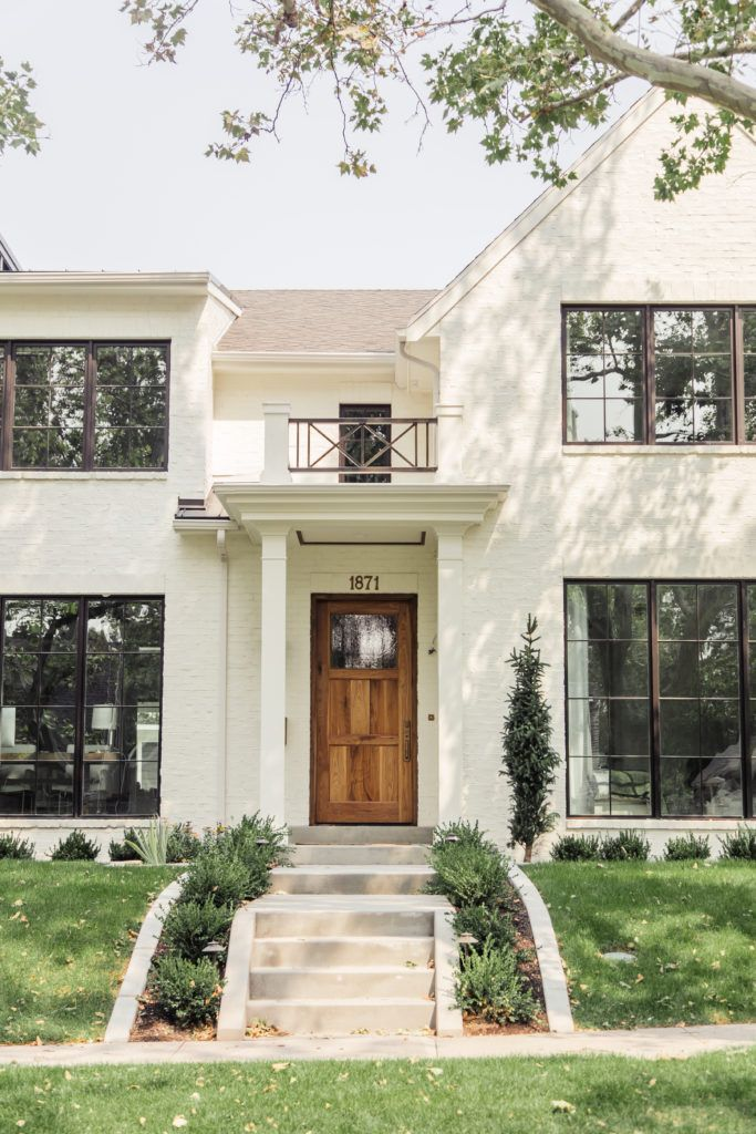 Best Exteriors Of 2017 Classic Modern Off White Painted