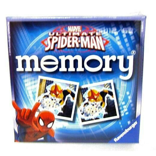 Ultimate Spider-Man Memory Cards game