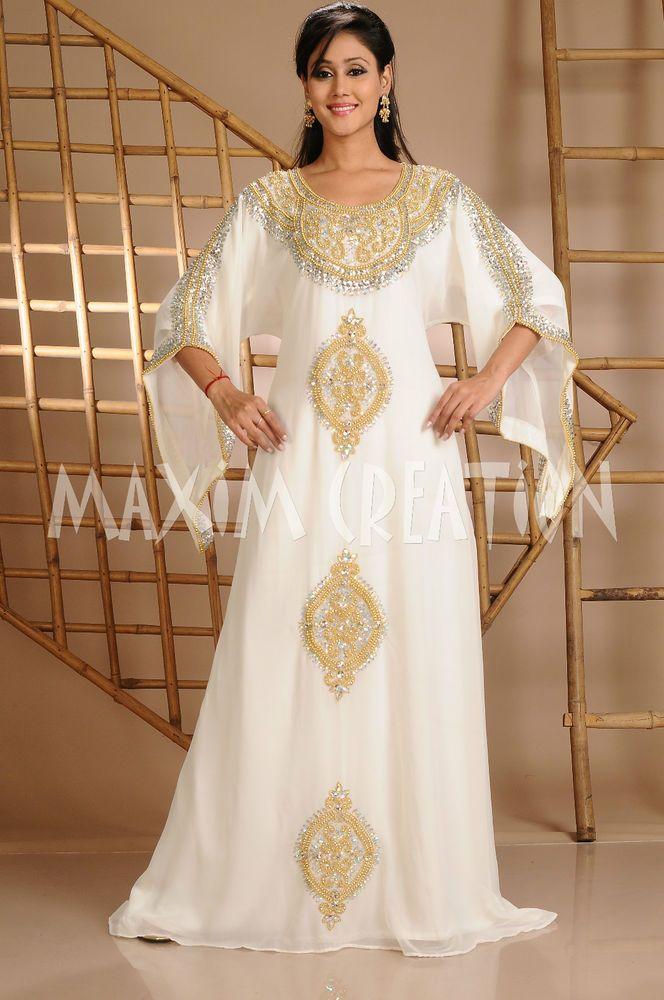 WEDDING CHEAP KAFTAN JALABIYA FANCY DUBAI KAFTAN ARABIC DRESS 3623 #MaximCreation #Kaftan #Formal