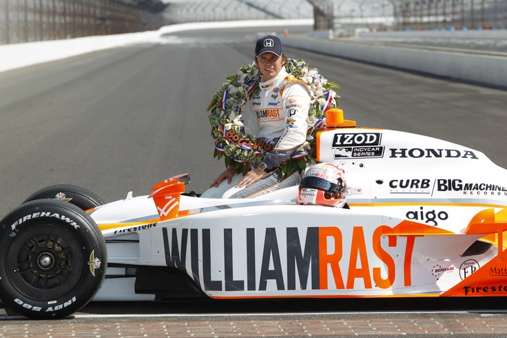 Dan Wheldon 2011 Indy 500 Winner- I cried when they drove his car around this year before the race.