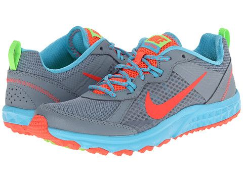 Nike Wild Trail Dove Grey/Clearwater/Flash Lime/Hot Lava - Zappos. Running  Shoes NikeWomen ...