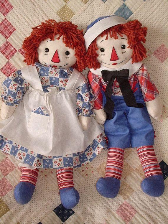 Тряпичная Энни & Andy