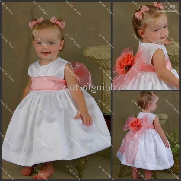 Gorgeous Wedding Dress For Baby Girl