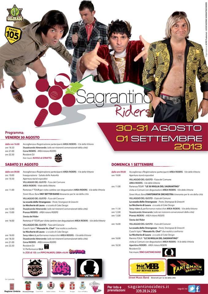 la locandina ufficiale della seconda edizione in programma a Montefalco dal 30 agosto al 1 settembre!!