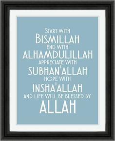 Beginnen met Bismillah Instant Digitale door MyButterflyGallery