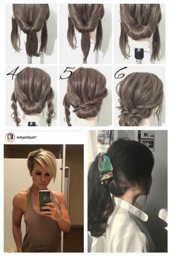 Hochsteckfrisur Für Mittellanges Haar Ile Ilgili Görsel