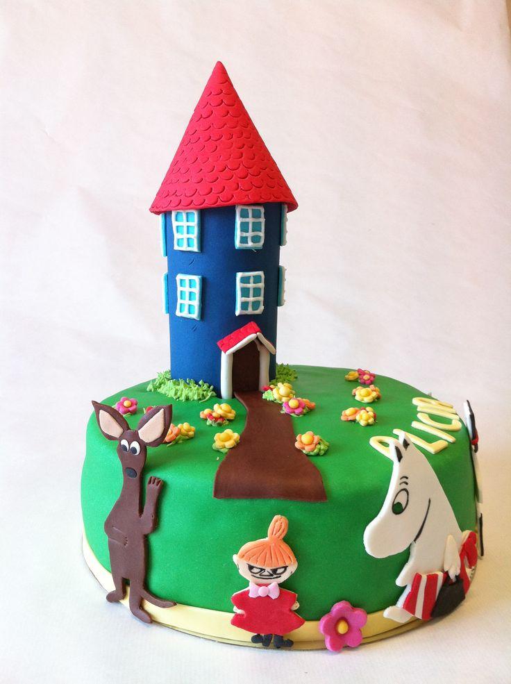 Mumins cake
