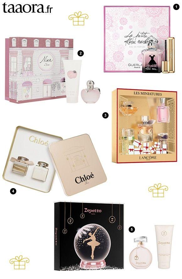 Les plus beaux coffrets parfums pour Noël : Lancôme, Guerlain, Nina Ricci, Chloé, Repetto >> http://www.taaora.fr/blog/post/coffret-cadeau-noel-parfum-femme-lancome-guerlain-chloe-nina-ricci-repetto #noel #cadeaux