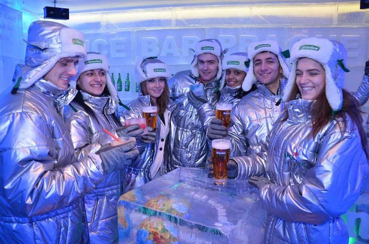 Europe�s Coolest Ice Bars