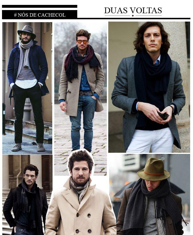 Baú da Moda Masculina: Nós de Cachecol