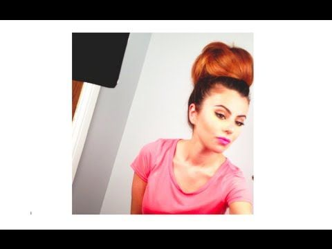 Best Up Do Hair Style Images On Pinterest Hairstyles Braids - Big bun hairstyle youtube