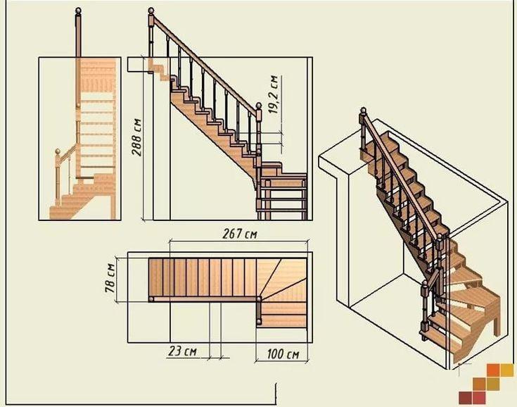Мансардные лестницы в картинках организаций