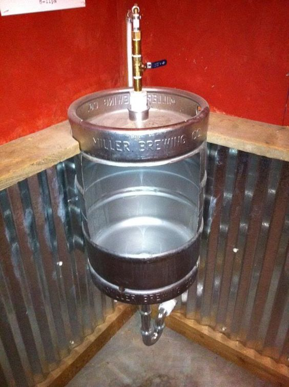 DIY Urinal for my brew house - Home Brew Forums
