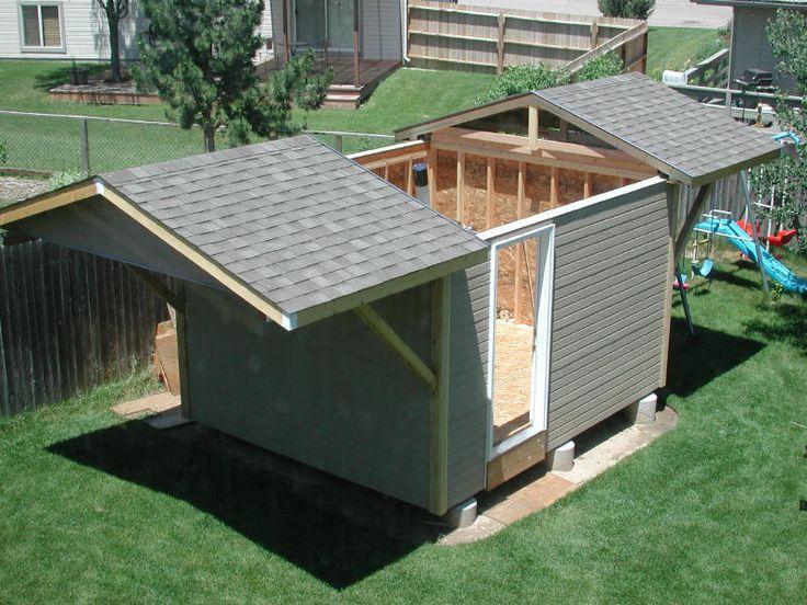 Bob Luffel Split Roll Off Roof Amateur Backyard