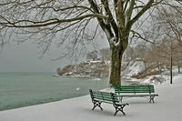 Oshawa, Ontario, Canada.  The chilly winters of my youth on the shores of Lake Ontario.