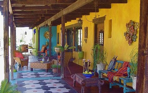 Gardening Mexican Style: a collection of Gardening ideas ... on Mexican Backyard Decor id=37946