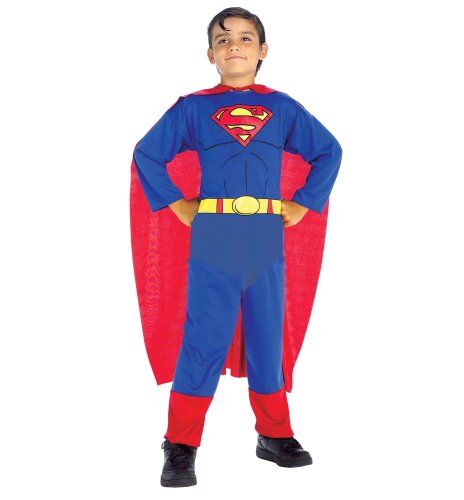 Superman Costume Child Small @ niftywarehouse.com #NiftyWarehouse #Superman #DC #Comics #ComicBooks