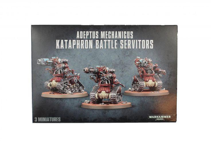 2x Adeptus Mechanicus Kataphron Battle Servitors - Element Games - Warhammer and Warhammer 40k Store