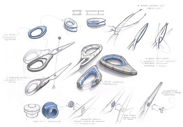 Why do you like it? A industrial/product designers sketches of a product.