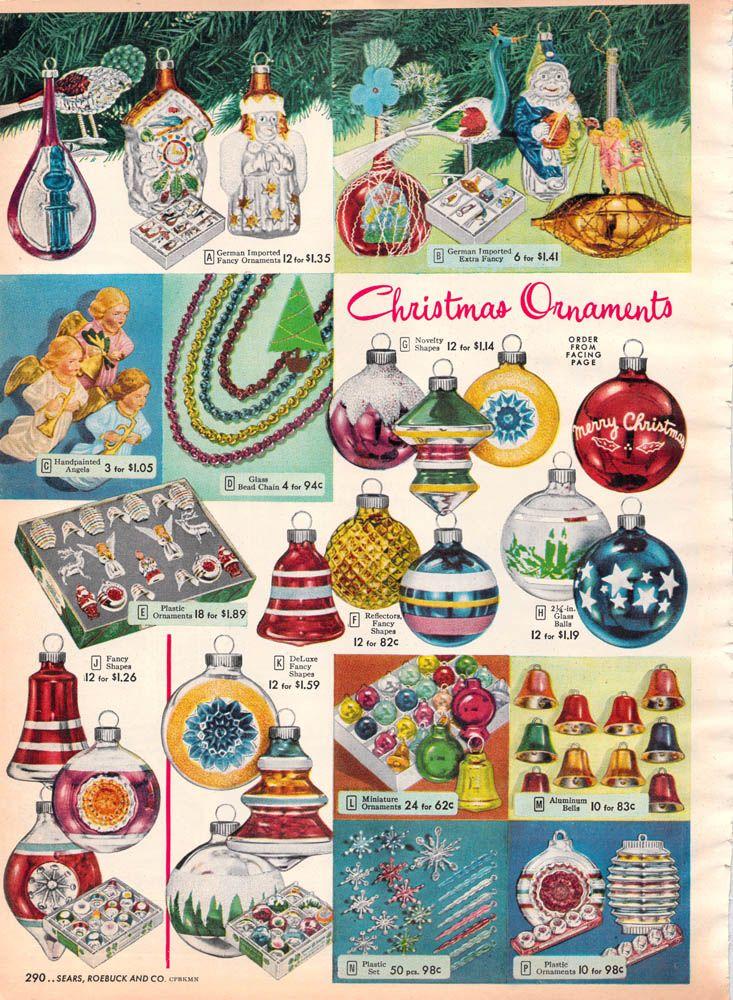 34 Best Ornaments 1950 1960 Images On Pinterest