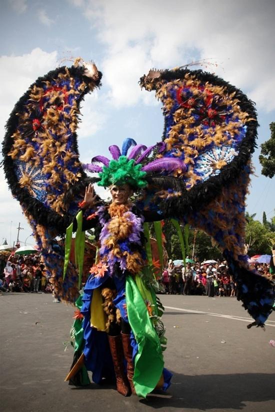 Jember Fashion Festival in Indonesia