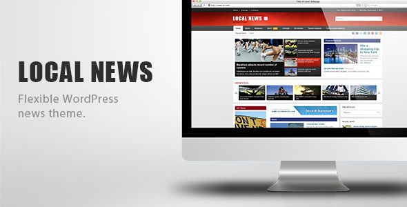 Local News - WP News Theme - http://bit.ly/1UT5dVh