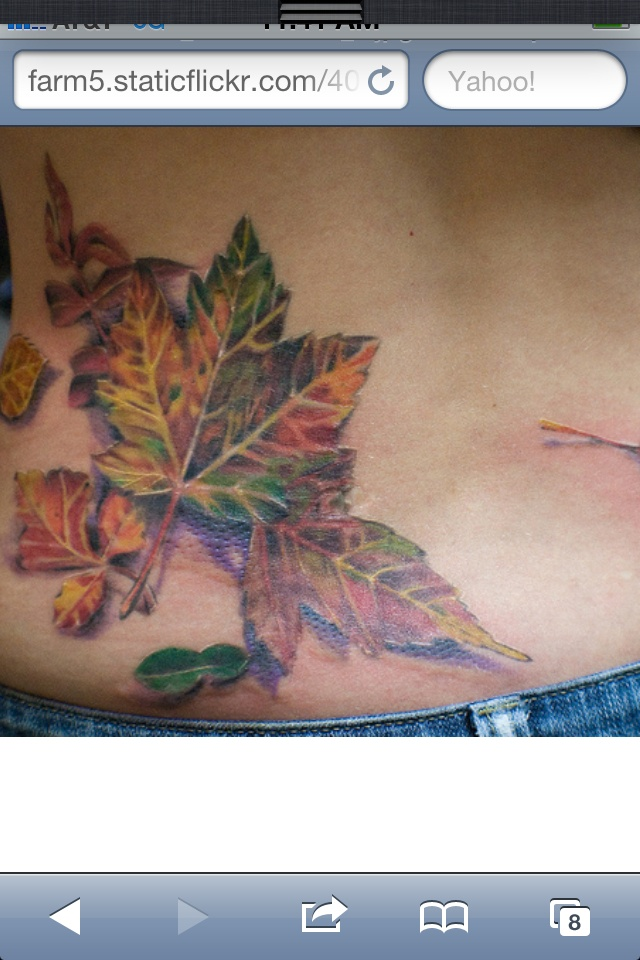 Leaf Tattoo Tattoos Tattoos Fall Leaves Tattoo Tattoos With