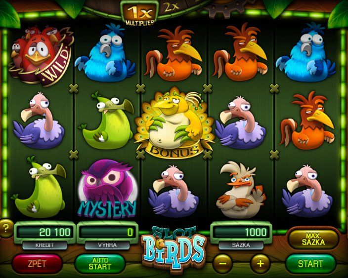SLOT BIRDS | Apollo Games - slot machine games manufacturer
