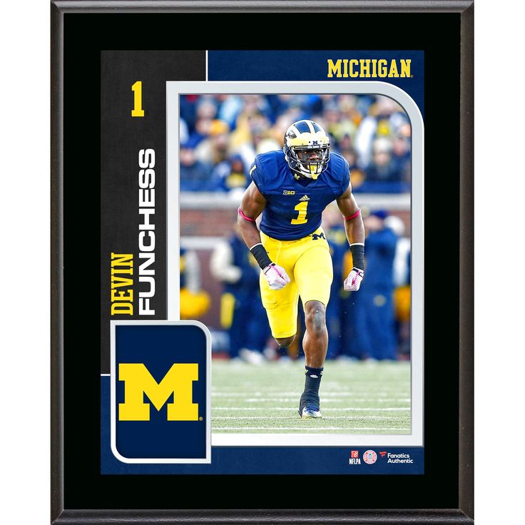 Devin Funchess Michigan Wolverines Fanatics Authentic 10.5'' x 13'' Sublimated Player Plaque - $23.99