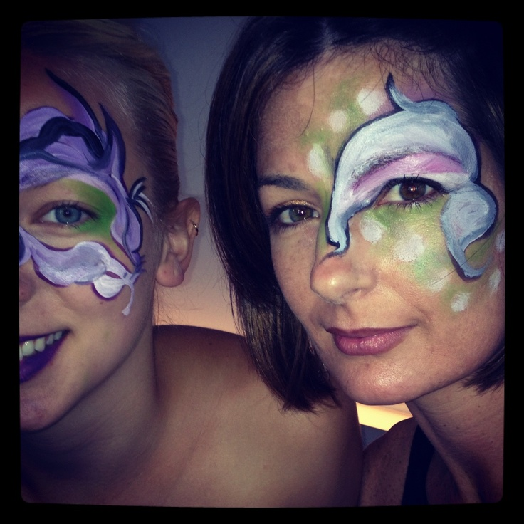 Face painting @ Yotel 2 year anniversary