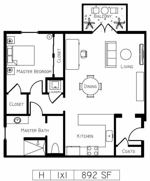 Luxury Condo Floor Plans   Floor Plan