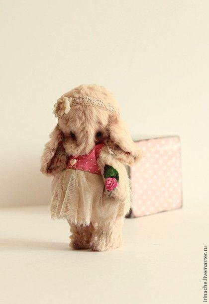 Мишки Тедди ручной работы. Ярмарка Мастеров - ручная работа. Купить Розовый слон. Handmade. Слон, кремовый, тедди слон