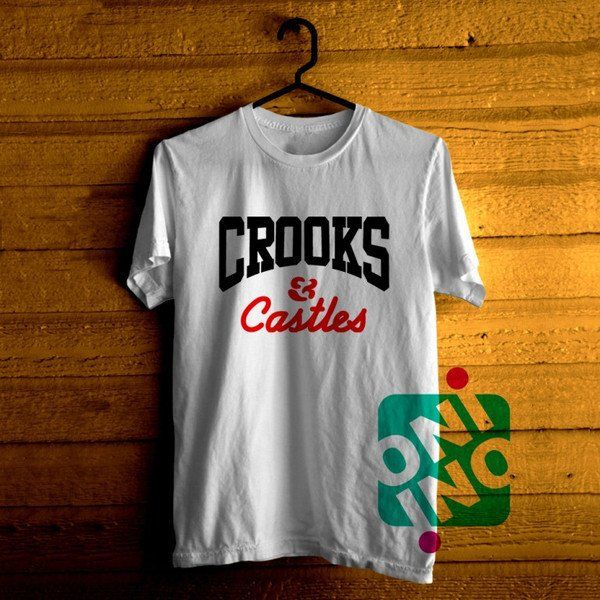 Crooks and Castle Tshirt For Men / Women Shirt Color Tees