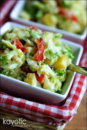 Curly Endive Mash...A stamppot is a really traditional and simple Dutch dish; mashed potatoes with one or more (root) vegetables. What I really love about a good 'stamppot', though, is how you can add almost anything to it and still have it taste great.