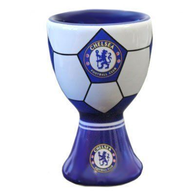 Chelsea F.C. Egg Cup by Chelsea. $15.63. Chelsea. Officially Licensed Product. Chelsea F.C. Egg Cup. Bowls / Egg Cups. CHELSEA F.C. Ceramic Egg Cup Official Licensed Product