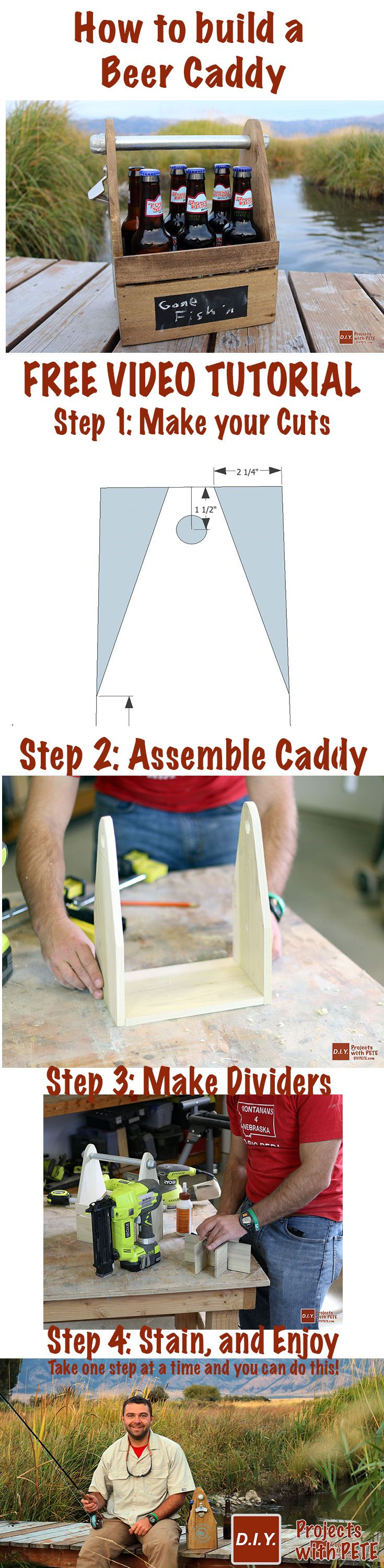 43 best DIY PETE VIDEO TUTORIALS images on Pinterest | Woodworking ...