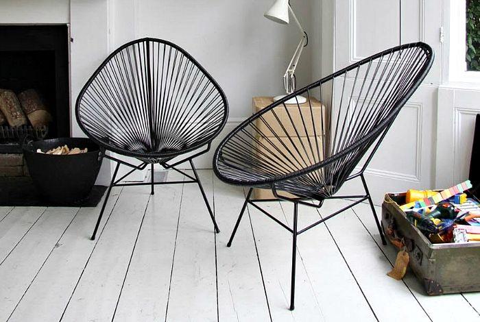 Дизайнерские стулья.