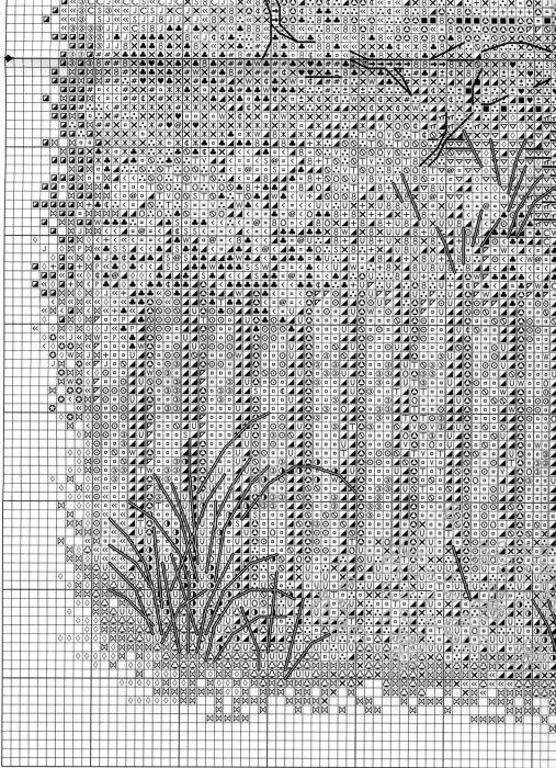 Схема вышивки Викторианский коттедж (Bucilla) 4 из 6