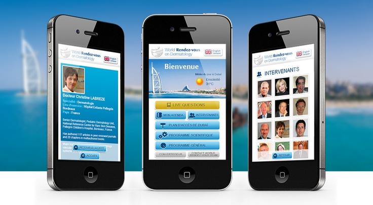Bioderma Dubai - Interface live chat lors du World Rendez-Vous on Dermatology