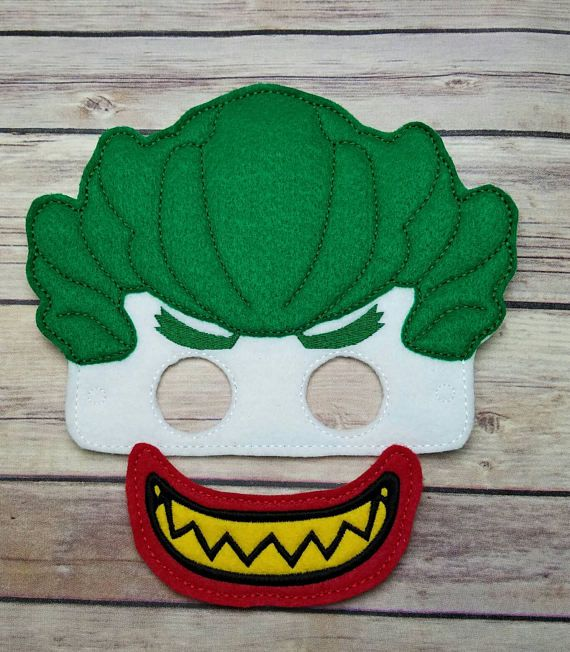 Check out this item in my Etsy shop https://www.etsy.com/listing/523409987/joker-mask-batman-lego-movie-mask-party