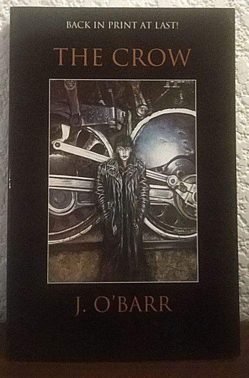 Buy Back in print at last ! THE CROW by James O' Barr. 2002for R51.00