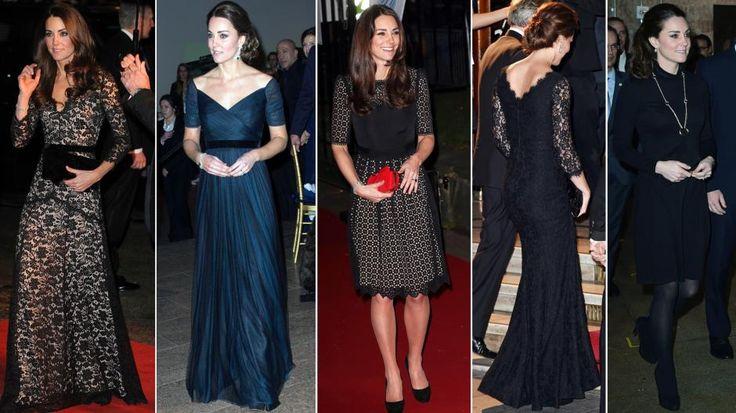KATE MIDDLETON: Snitt, knelengder, bruk av tilbehør, kunsten å balansere en klft - ja, det er mye vi kan lære av hertuginne Kates klesstil.