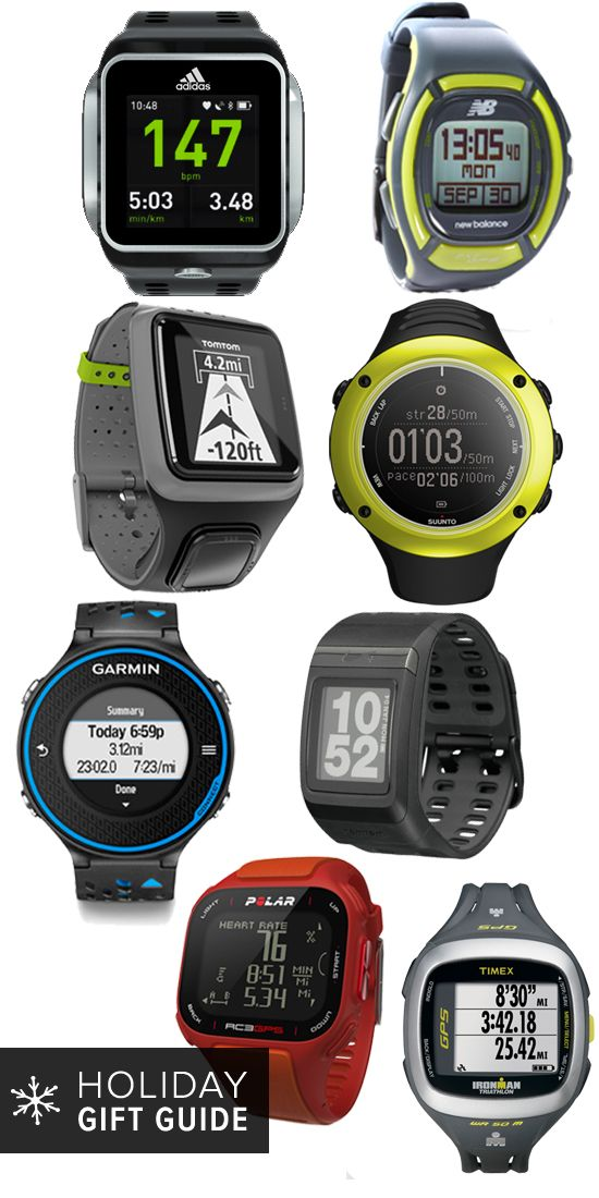 A GPS watch for any runner! Great gift options.